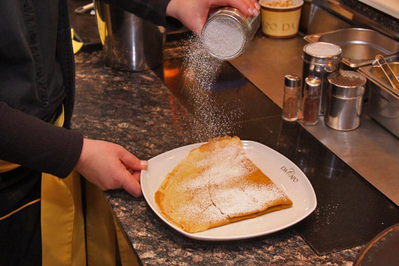 Das Eiscafé Da Capo - Crepes