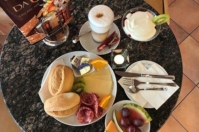 Das Eiscafé Da Capo - Frühstück