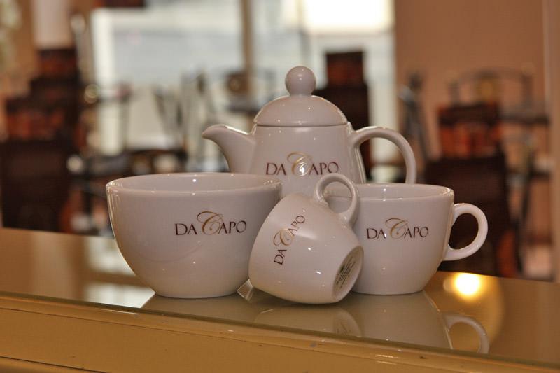 Das Eiscafé Da Capo - Kaffee und Schokolade