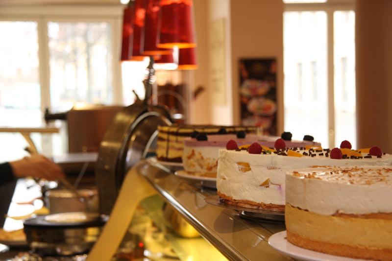 Das Eiscafé Da Capo - unsere Torten