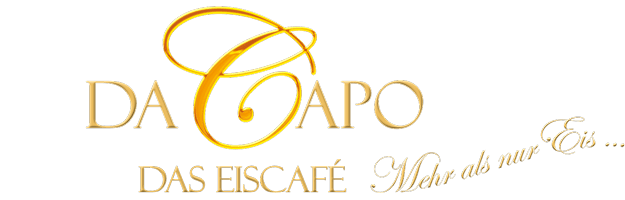 Eiscafe Da Capo in Cottbus Logo